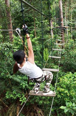 skytrex obstacle course