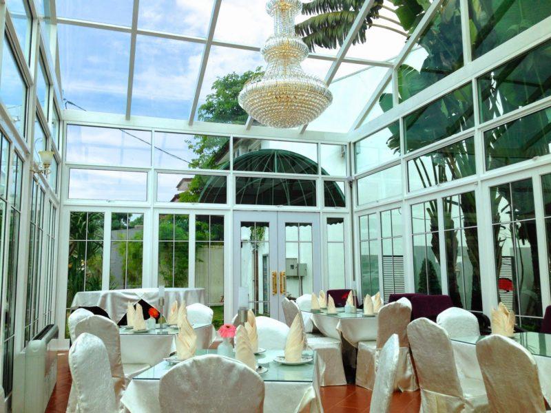 glasshouse tea room