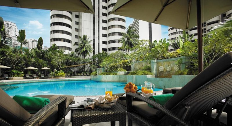 Enjoy this scenic view at Shangri-La Hotel Kuala Lumpur when you book with HotelQuickly.