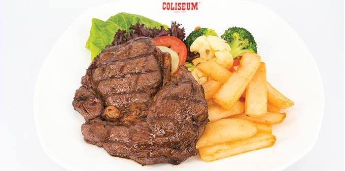 Coliseum Cafe Steak