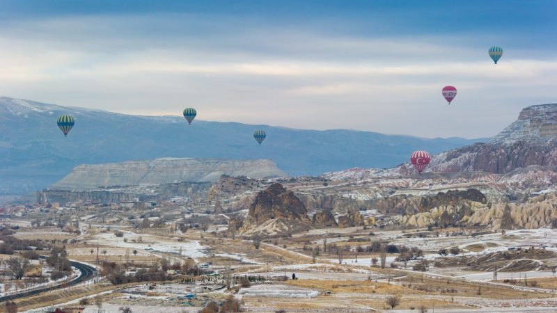 hot air balloons in turkey Randy Tarampi