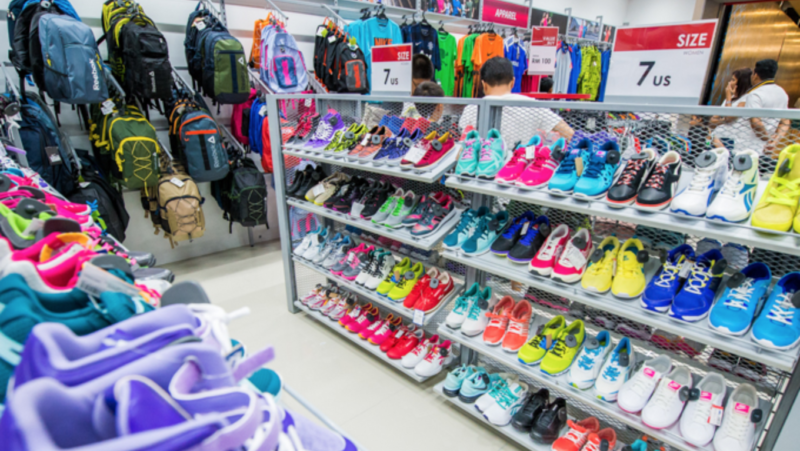 Mid Valley Megamall's Why Pay More outlet selling sports shoes at discounted rate