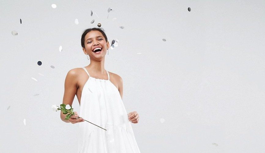 Fall In Love With ASOS' Wedding Dress Alternatives