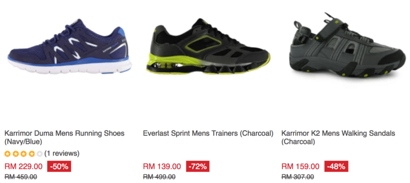 57349f09f9 9 Places to Find Cheap Sports Shoes in Kuala Lumpur