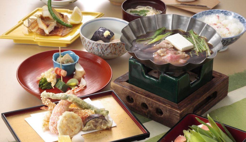 Minokichi's Halal Kaiseki meal