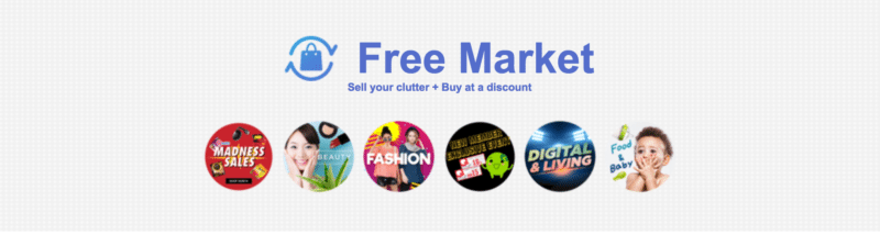 22d761d5271 #9 Use the Freemarket (To Earn Money, Or Even Buy At A Discount). Free  Market Qoo10