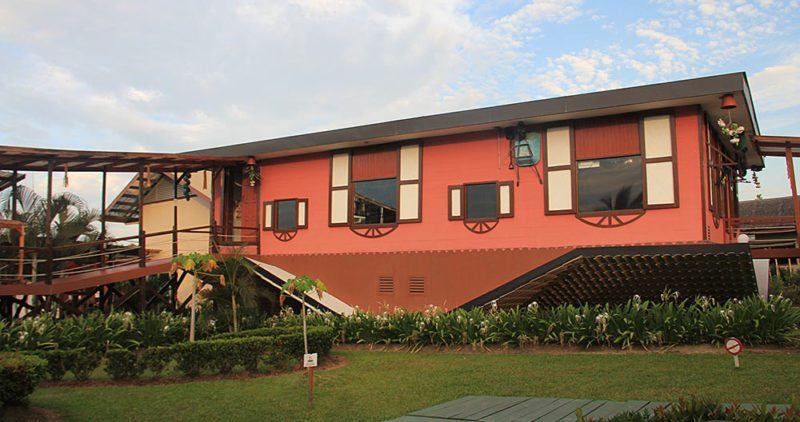 The Upside Down house in Sabah, Malaysia, Rumah Terbalik.