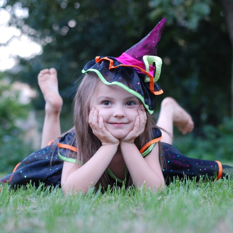 Witch Halloween Costume for kids