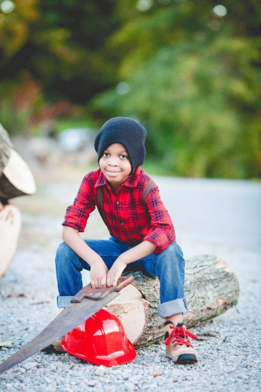 Kids Woodcutter Halloween Costume