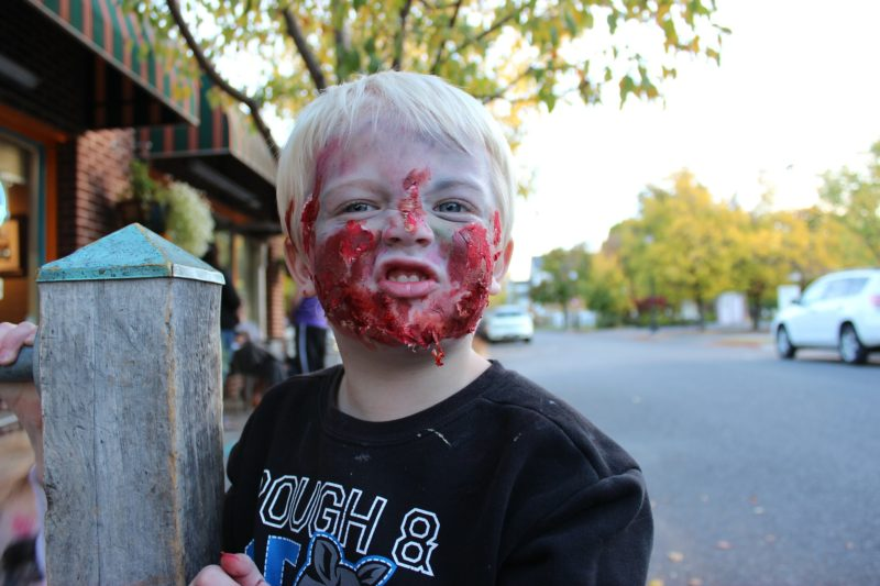 Zombie Halloween Costume for Kids