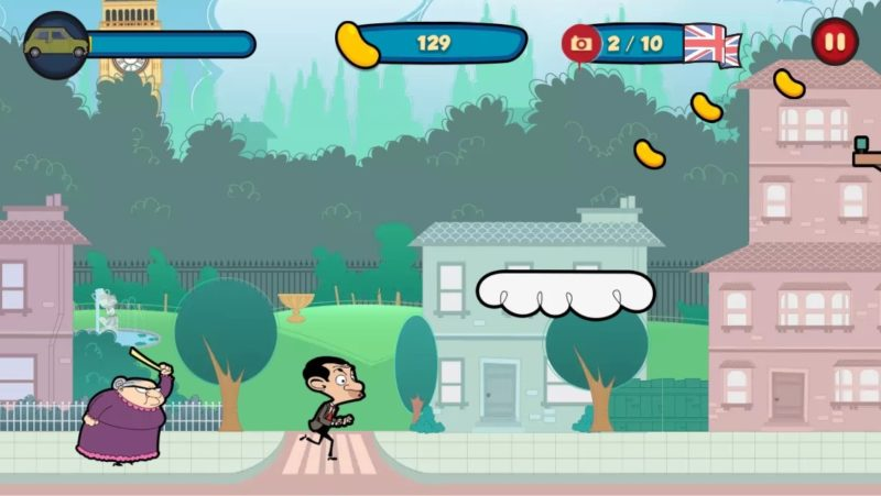 Mr Bean- Around the world Mobile Game
