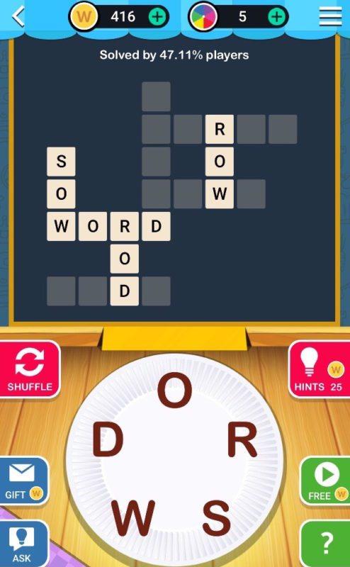Word Jam Mobile Game