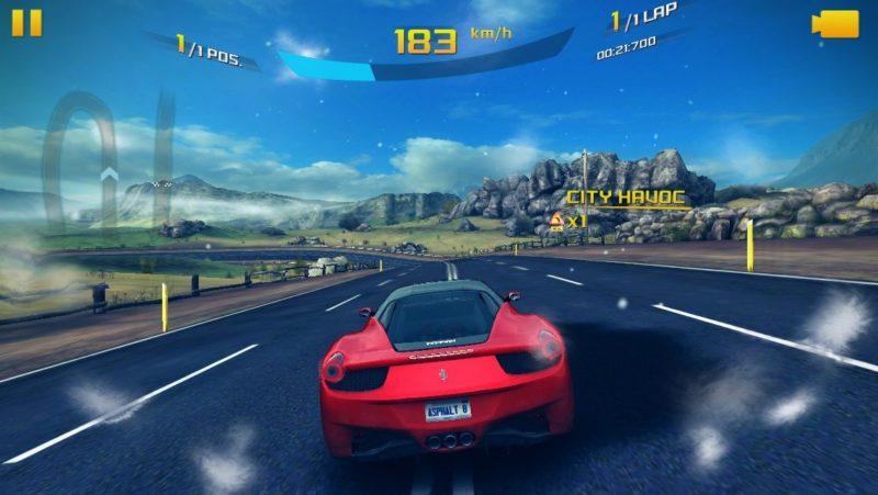 Asphalt 8: Airborne Mobile Game