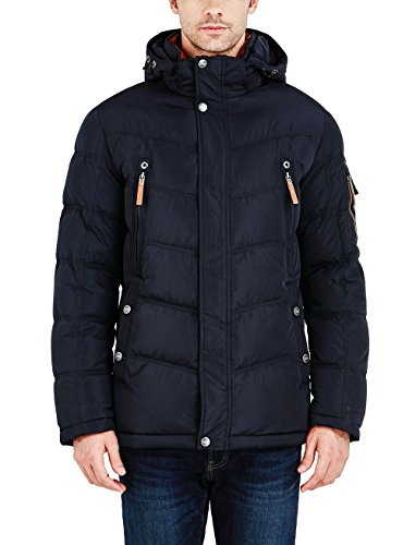 ICEbear Mens Jackets Thick Winter Coats Quilted Clothes