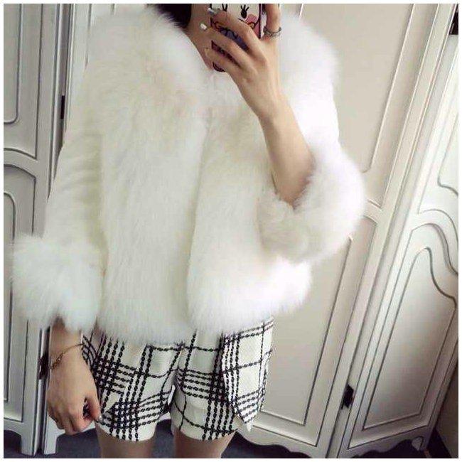 faux fur coat sally fashion