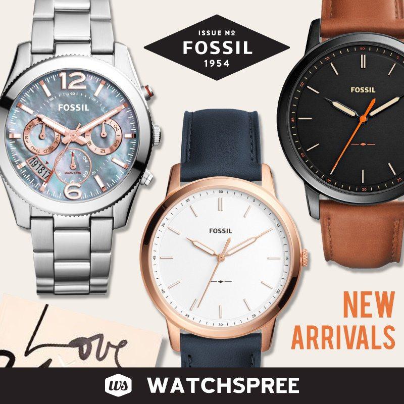 fossil watchspree qoo10