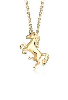 Elli Germany Gold Unicorn Necklace