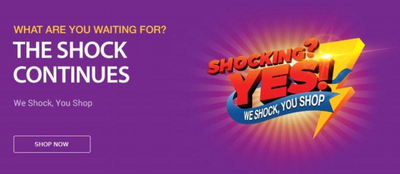 11Street We Shock You Shop promotional banner