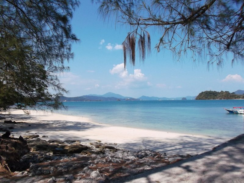 Beautiful beaches in Langkawi