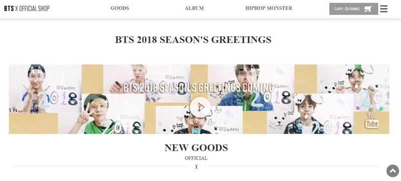 BTS Official Shop