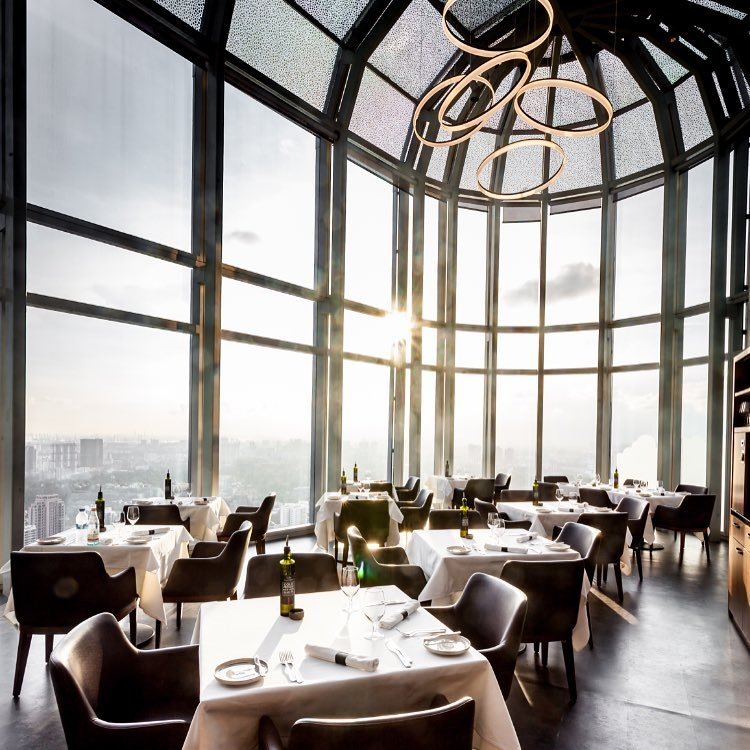Salt Grill and Sky Bar Interior