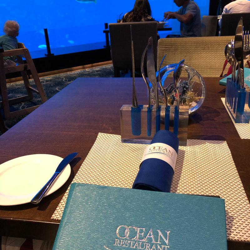 Ocean Restaurant Interior