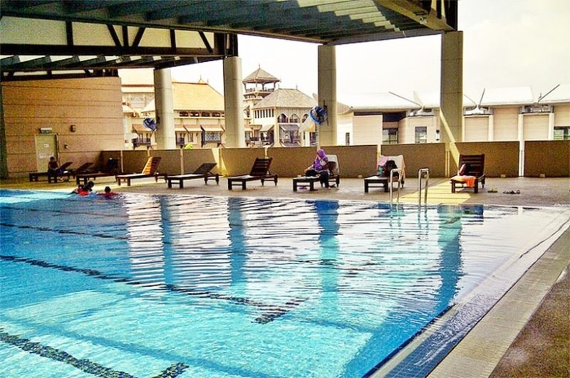Swimming pool at Marina Putrajaya