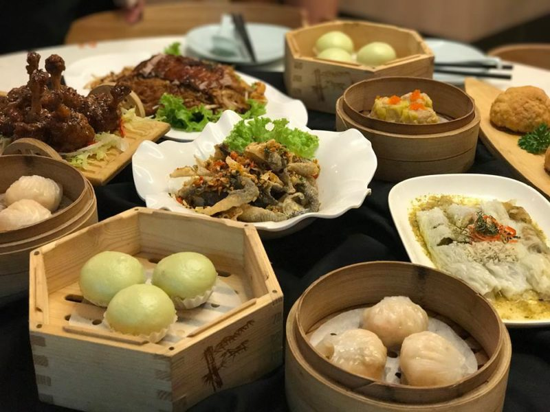 Dim Sum at The Dim Sum place SIngapore