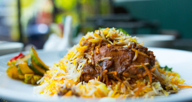 Biryani rice from Islamic Restaurant , Singapore