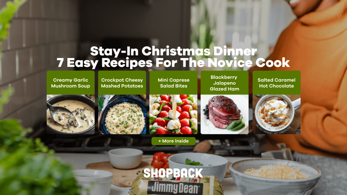 Stay-In Christmas Dinner: 7 Easy Recipes For The Novice Cook