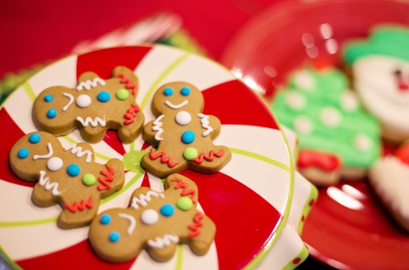 Gingerbread Man cookies for Christmas