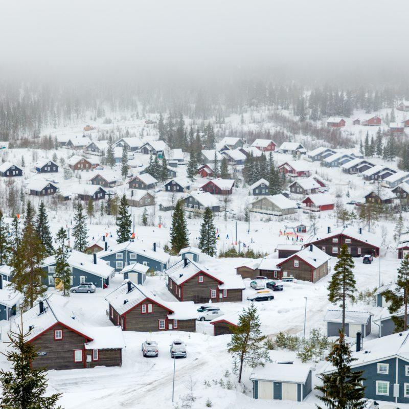 winter holiday Branäs Skidanläggning Sysslebäck Sweden
