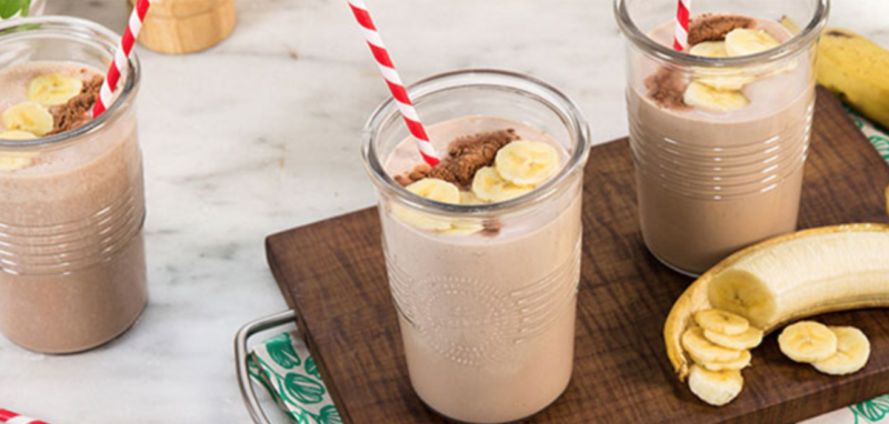 Milo Banana Oats smoothie