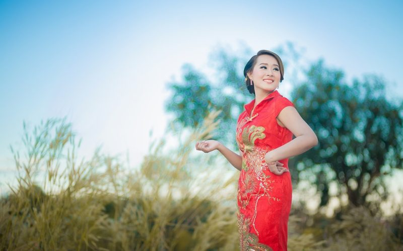 Chinese New Year Clothes: Qipao