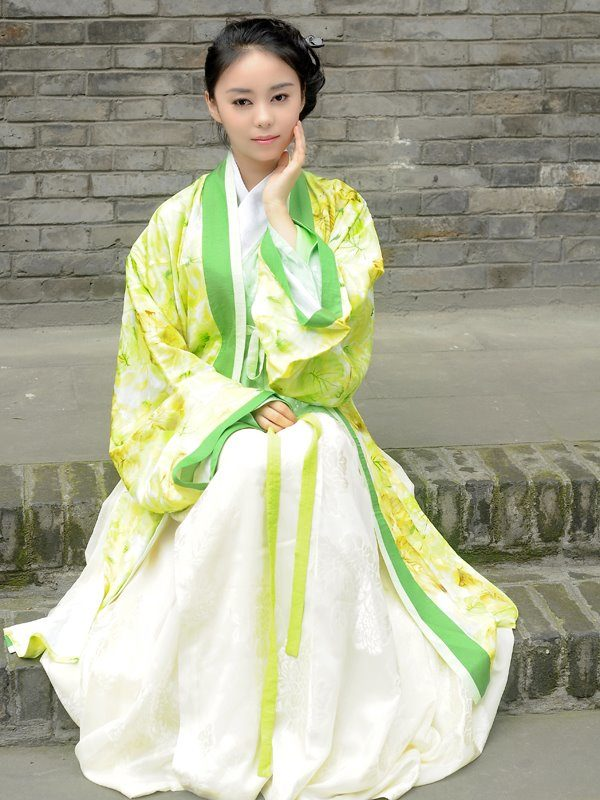 Chinese New Year Clothes: Hanfu