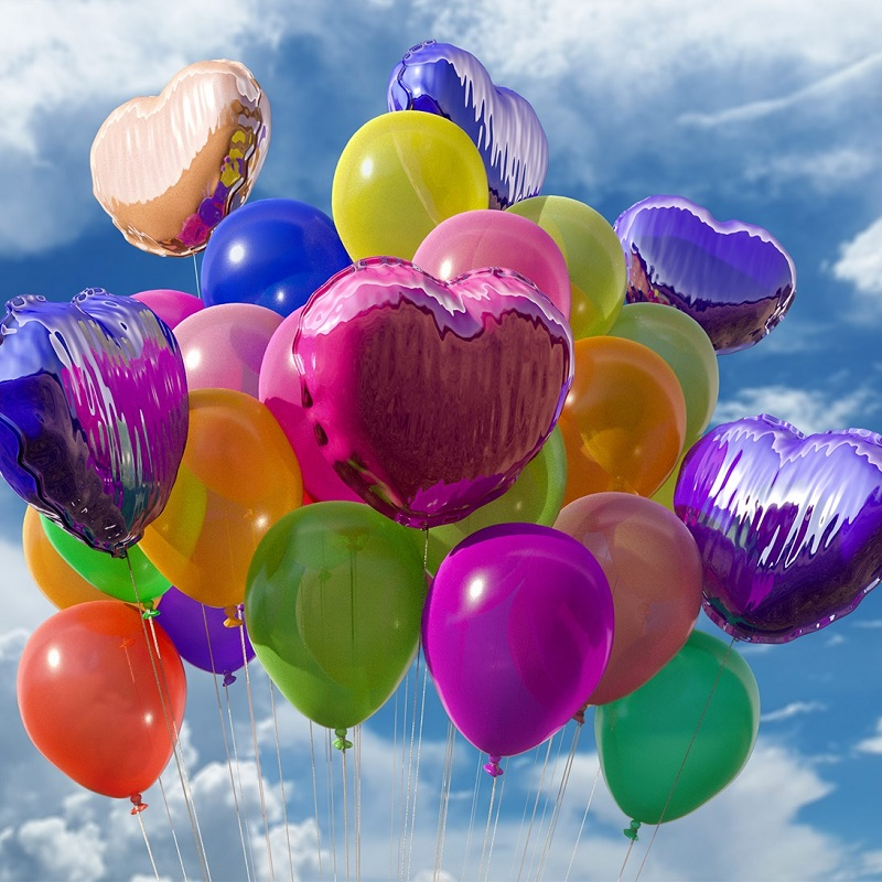 Balloons Colourful Confess
