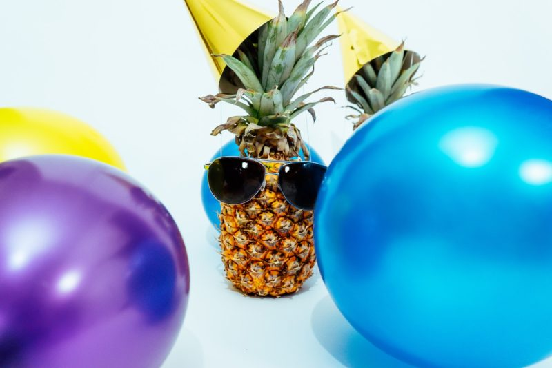 Pineapple at party