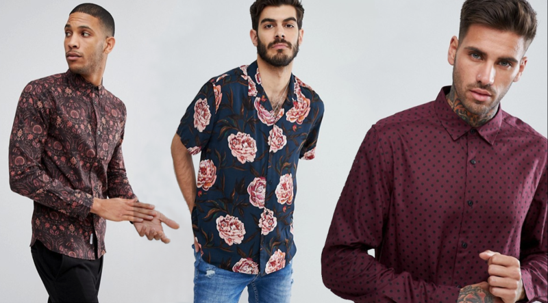 Patterned Shirts for Chinese New Year