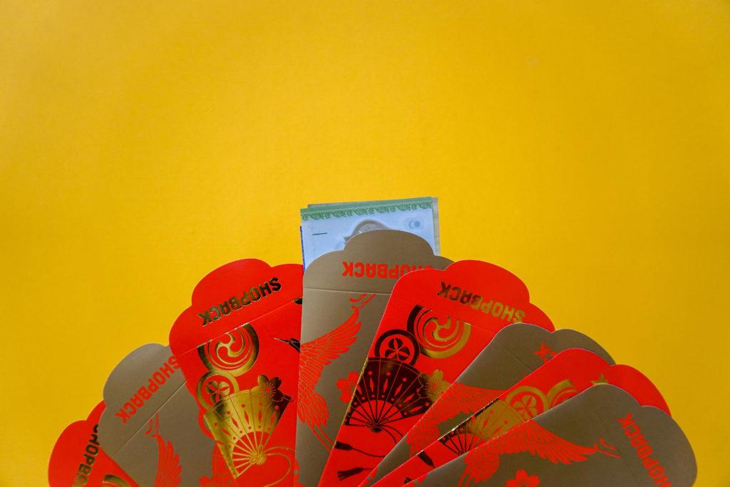 shopback ang bao red packet fan