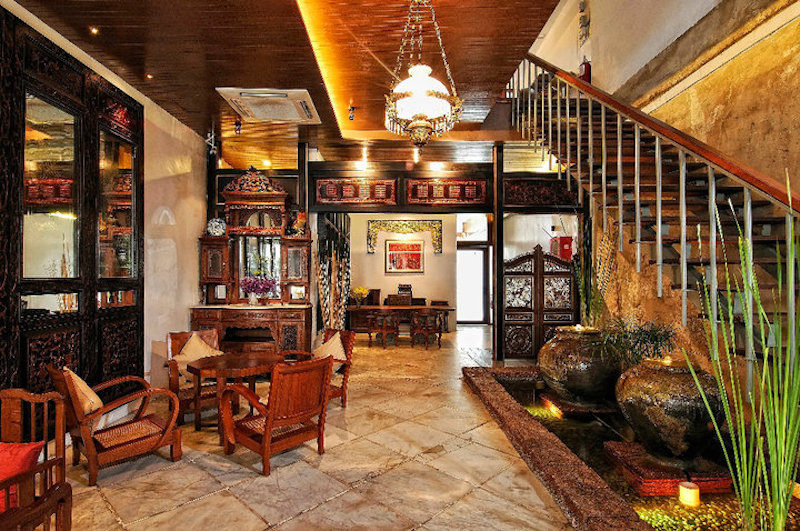 boutique hotel in melaka | Courtyard at Heeren Boutique Hotel