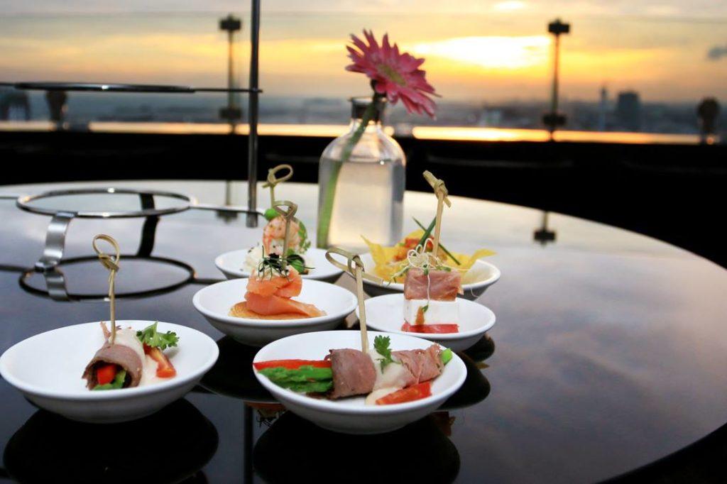 Fine Dining in Alto sky Lounge Malacca