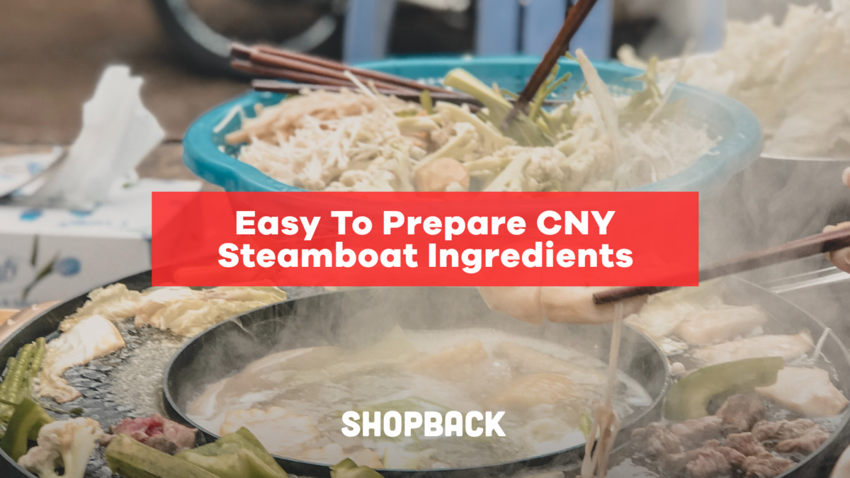 Easy To Prepare Chinese New Year (CNY) Steamboat Ingredients