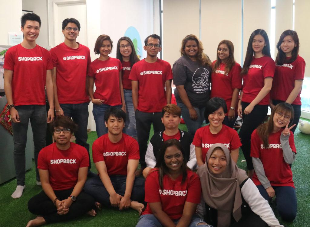 shopback malaysia group photo