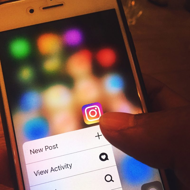 Create a new Instagram post