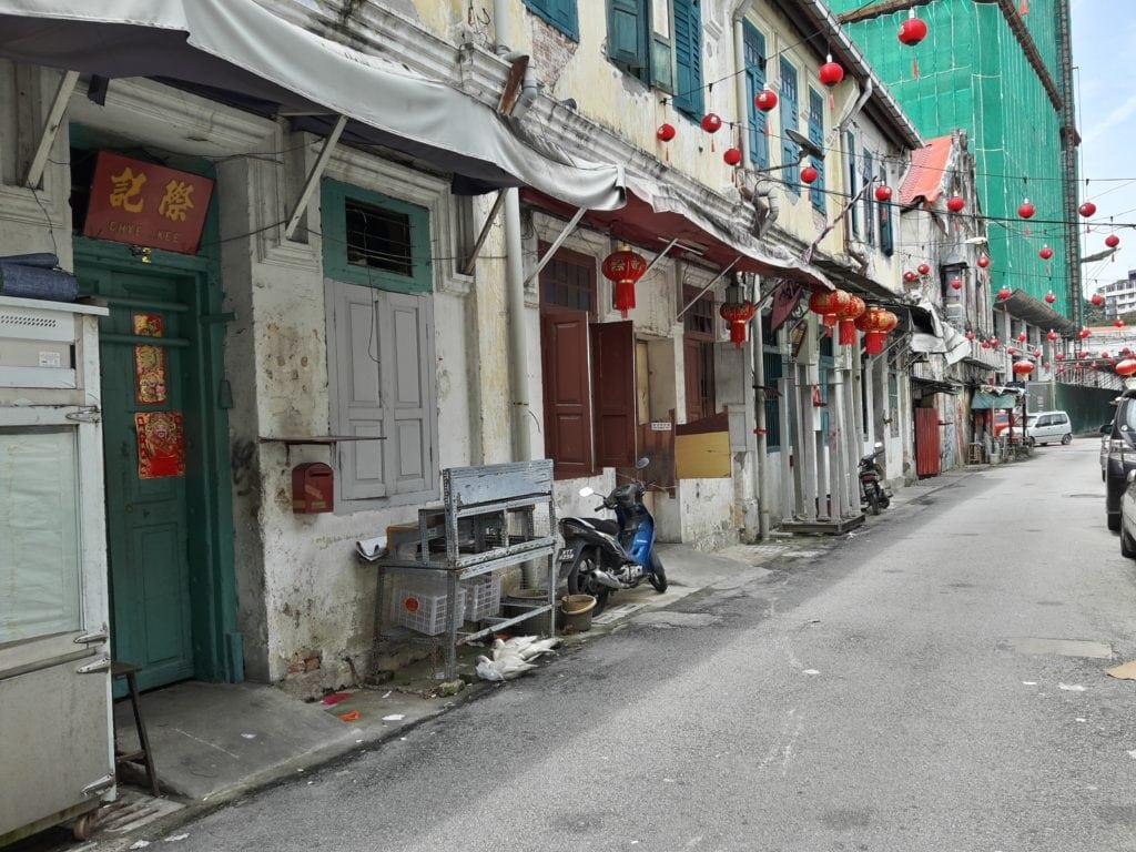 Back alleys at Lorong Panggung