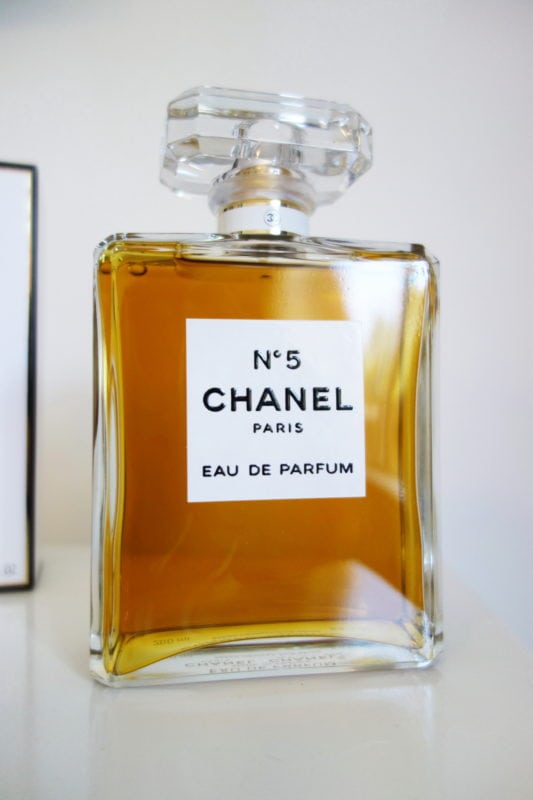 chanel perfume try