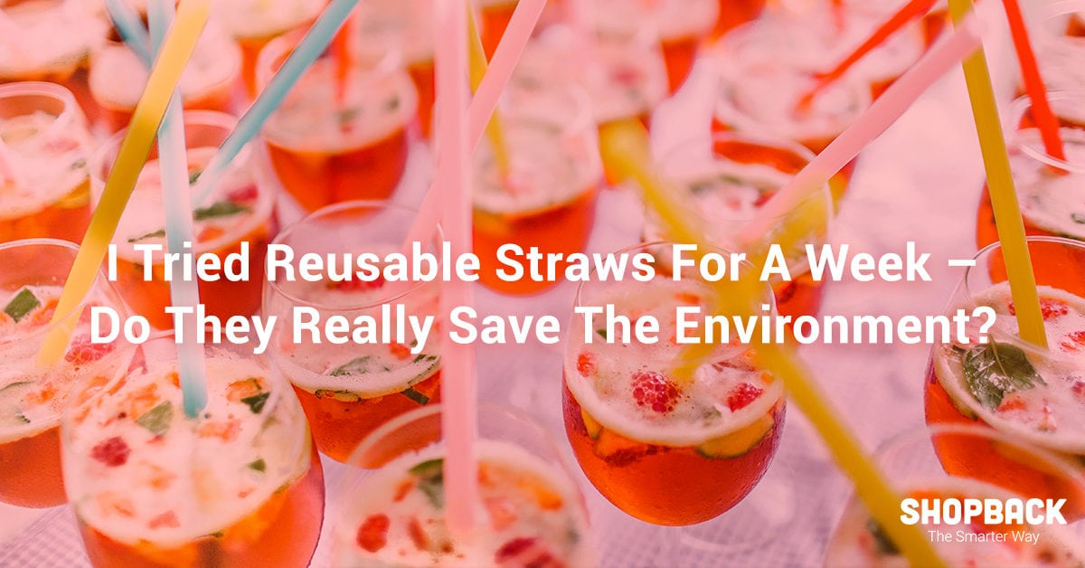 I Tried Reusable Straws For A Week - Do They Really Save The
