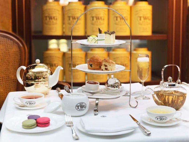TWG tea set