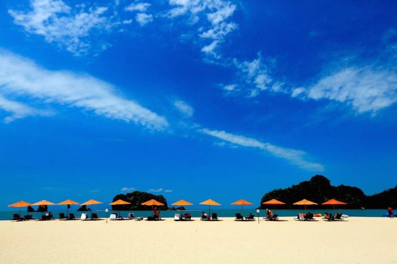 Langkawi Beach Blue Sky