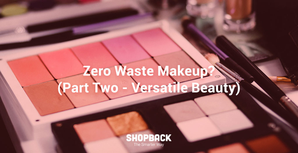 blog header zero waste makeup versatile beauty part two